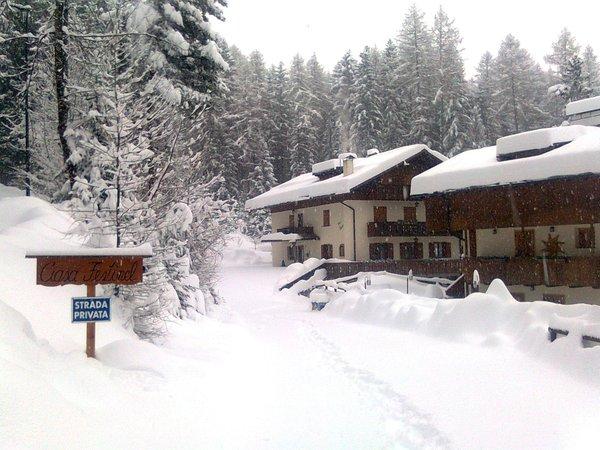 Foto invernale di presentazione Residence Ciasa Festinel