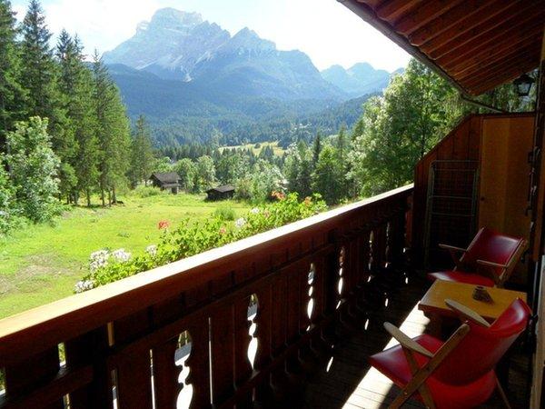 Foto del balcone Ciasa Festinel