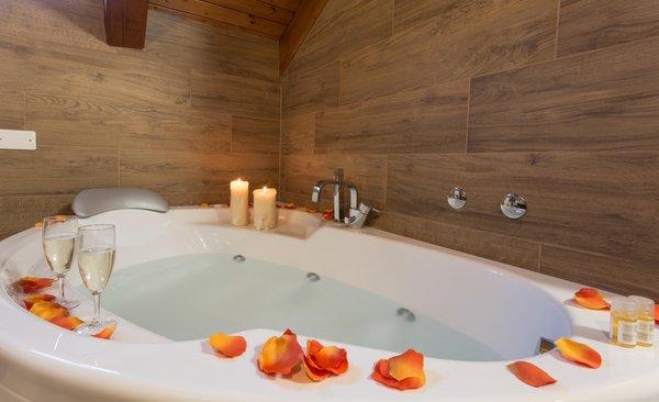 Foto del bagno Hotel La Baita