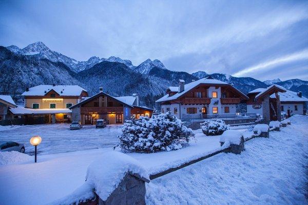 Foto Außenansicht im Winter La Baita