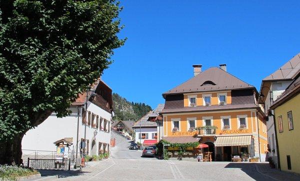 Foto estiva di presentazione Valcanale - Garni-Hotel 1 stella