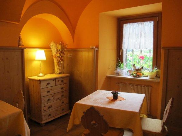 La zona giorno Valcanale - Garni-Hotel 1 stella