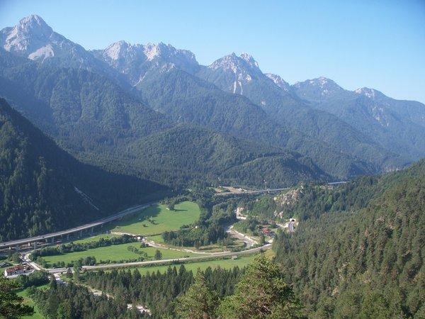 Panorama Malborghetto – Valbruna