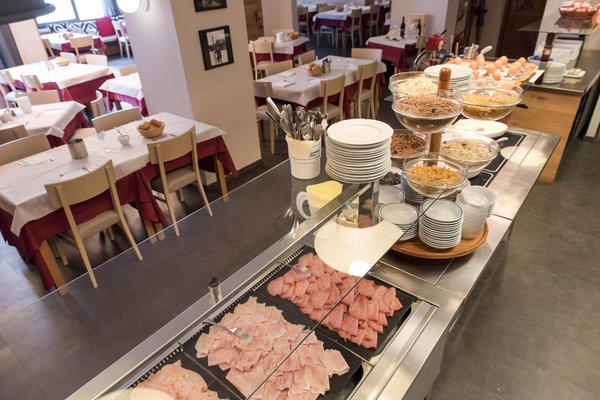La colazione Al Gallo Forcello.1530 - Hotel 3 stelle sup.