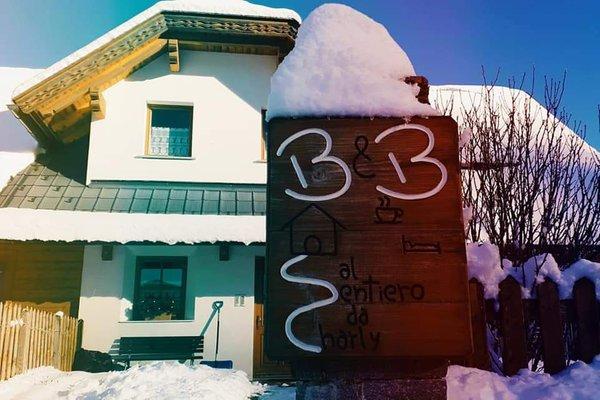 Winter Präsentationsbild Bed & Breakfast Al Sentiero di Charly