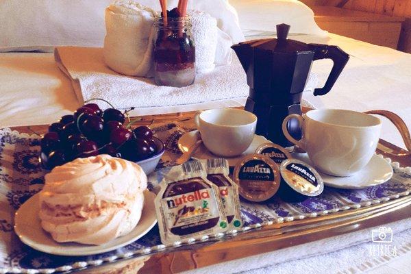 Das Frühstück Bed & Breakfast Al Sentiero di Charly