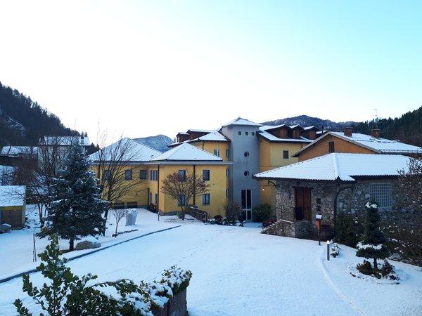 Foto invernale di presentazione Grand Hotel Gortani