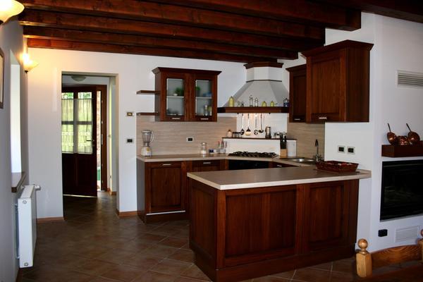 Photo of the kitchen Comeglians