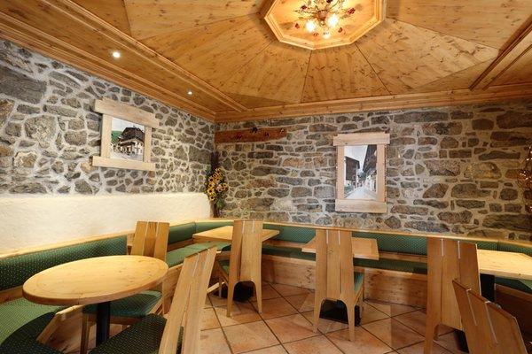 Il ristorante Forni di Sopra Centrale