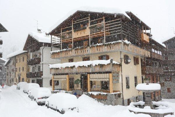 Foto invernale di presentazione Centrale - Albergo 3 stelle
