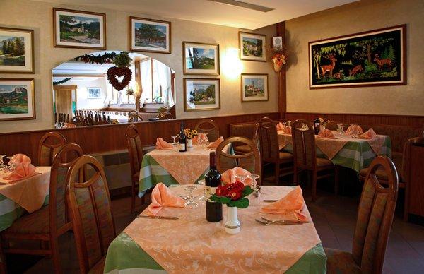 Il ristorante Forni di Sopra Davost