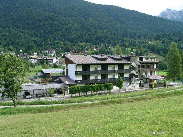 Position Hotel Davost Forni di Sopra (Friulian Alps)