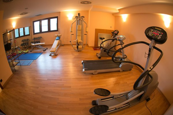 Photo of the fitness area Hotel La Perla