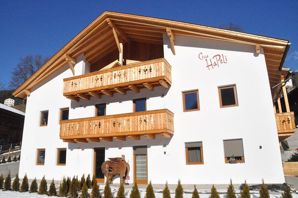 Foto invernale di presentazione Mountain Apartment Hapeli