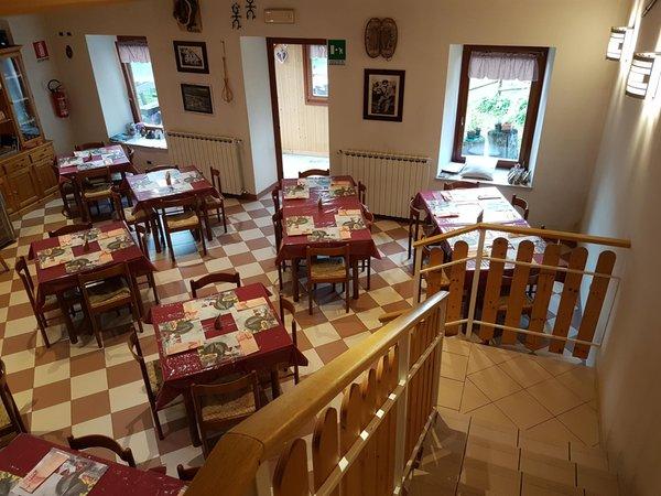 Il ristorante Malborghetto - Valbruna Casa Alpina Julius Kugy