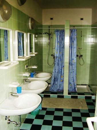 Foto del bagno Rifugio Casa Alpina Julius Kugy