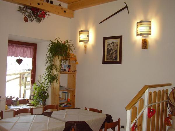 Le parti comuni Rifugio Casa Alpina Julius Kugy