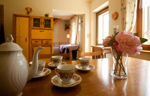 Das Frühstück Ferienhaus Martignilas