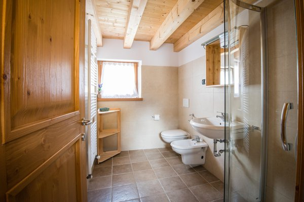 Photo of the bathroom Scattered hotel Lago di Barcis - Dolomiti Friulane