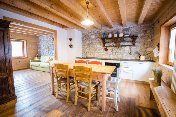 La zona giorno Lago di Barcis - Dolomiti Friulane - Albergo diffuso