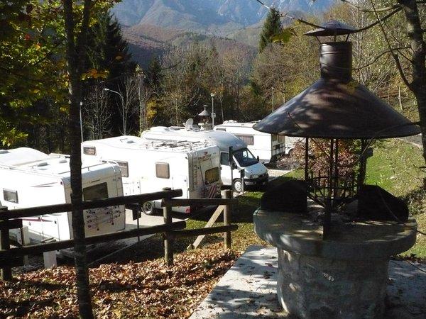 Foto estiva di presentazione Campeggio San Francesco
