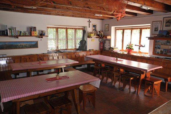 The common areas Mountain lodge Pordenone