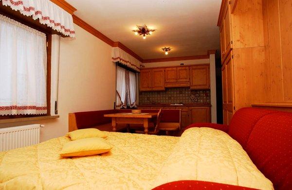 La zona giorno Residence Les Suites