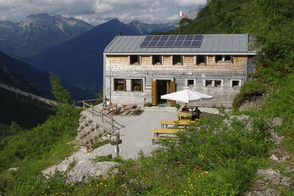 Summer presentation photo Mountain hut Flaiban Pacherini