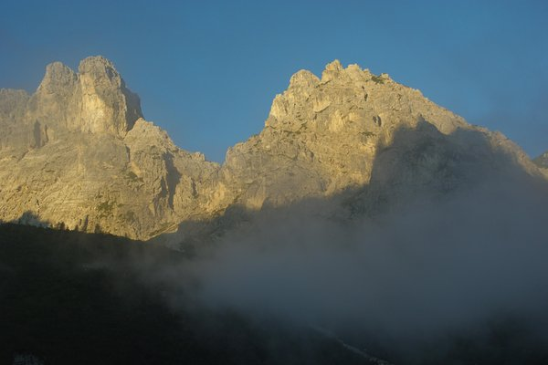 Panoramic view Forni di Sopra (Friulian Alps)