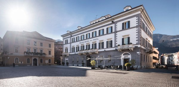 Photo exteriors in summer Grand Hotel Della Posta - Dimora Storica