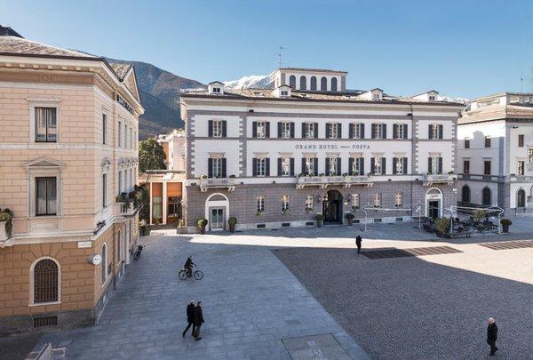 Position Grand Hotel Della Posta Sondrio
