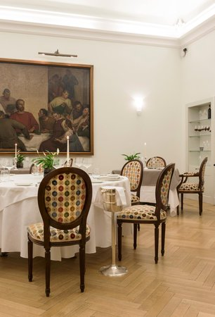 The restaurant Sondrio Grand Hotel Della Posta - Dimora Storica