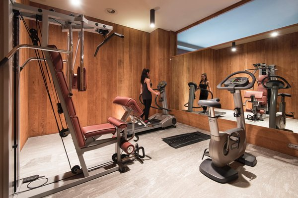 Photo of the fitness area Grand Hotel Della Posta