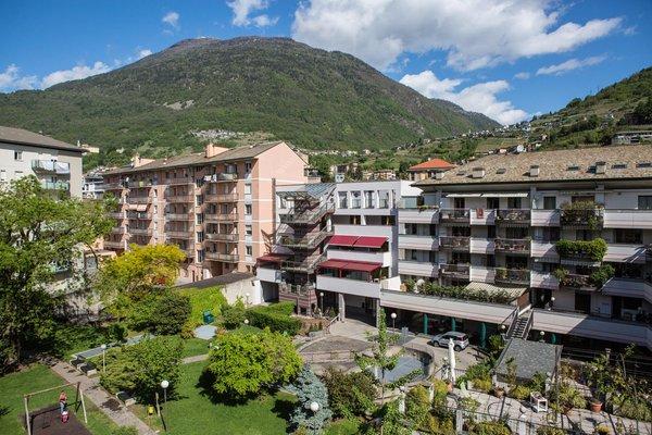 La posizione Residence Piazzi House Sondrio