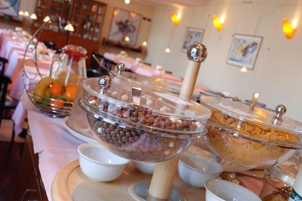The breakfast Hotel Campelli