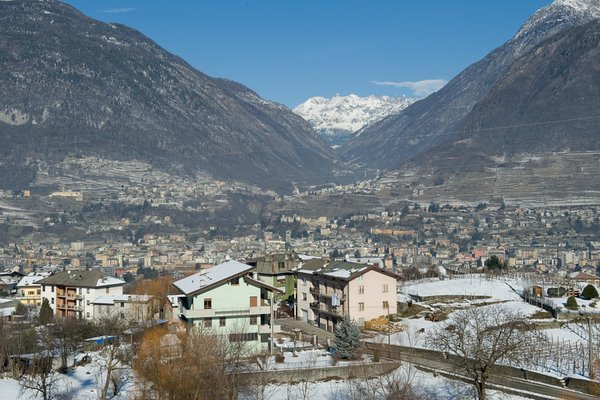 Photo exteriors in winter Campelli