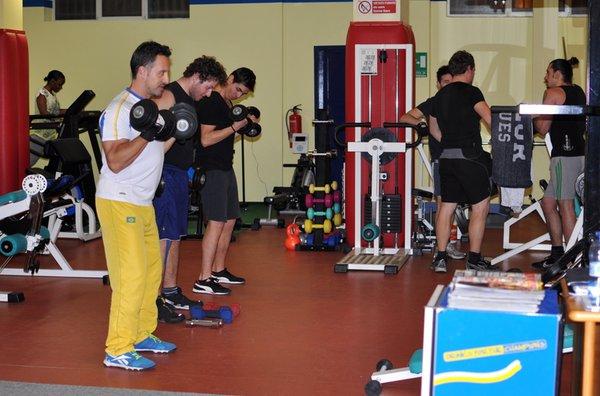 Foto della zona fitness Hotel + Residence Biancaneve
