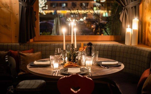 Il ristorante Bormio Genzianella