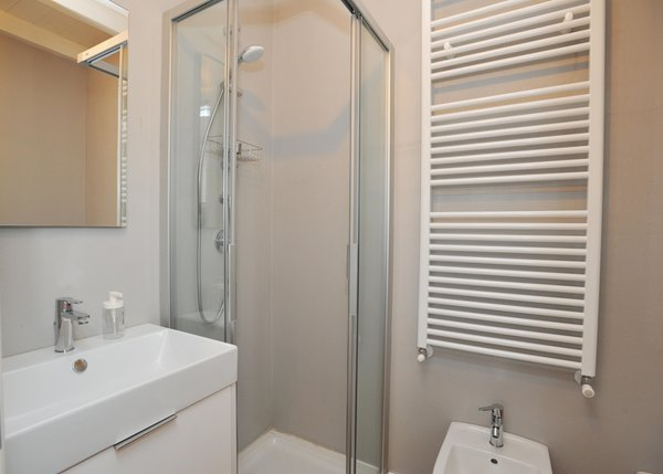 Photo of the bathroom B&B-Hotel Baita Fanti