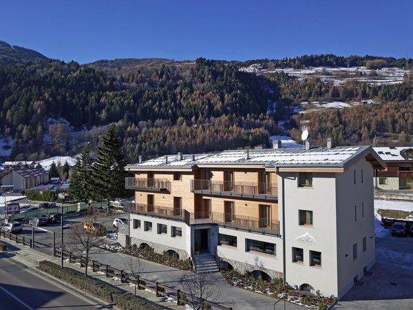 Foto invernale di presentazione Baita Fanti - B&B-Hotel 3 stelle
