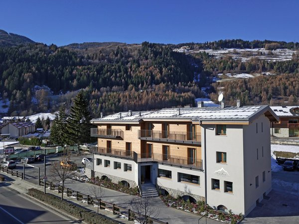 Winter presentation photo Baita Fanti - B&B-Hotel 3 stars