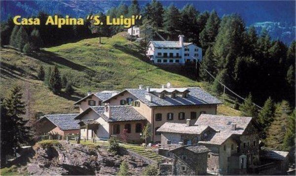 Foto estiva di presentazione Hotel Casa Alpina S. Luigi