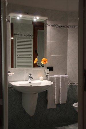 Foto del bagno Albergo Bucaneve