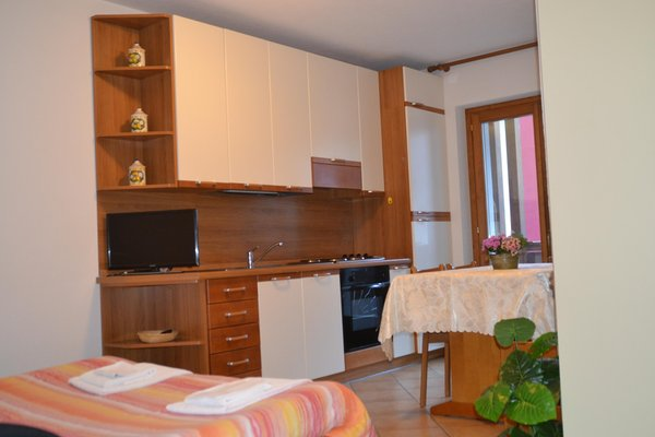 Foto der Küche Baita dei Pini