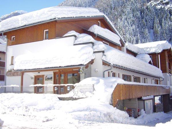 Foto Außenansicht im Winter Baita dei Pini