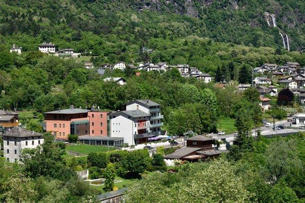 La posizione Hotel Aurora Chiavenna