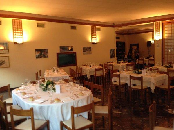 Das Restaurant Chiavenna Conradi
