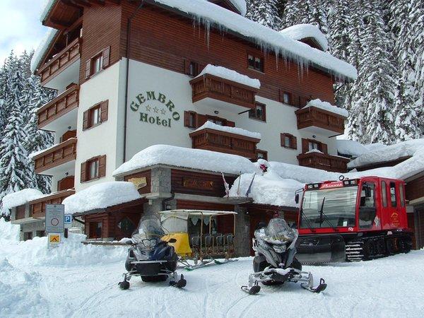 Foto invernale di presentazione Gembro - Hotel 3 stelle