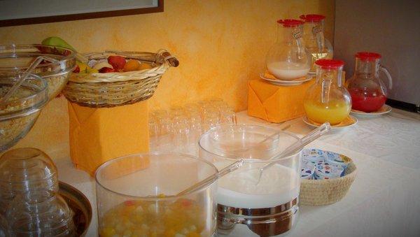 The breakfast Meublé La Betulla - Hotel 3 stars