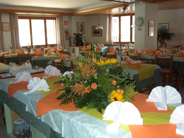 Das Restaurant Chiesa in Valmalenco Pigna d'Oro